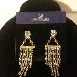 Swarovski crystals Stone earrings